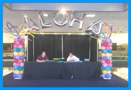balloon letters and numbers