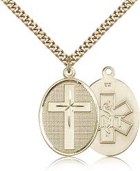christian necklace emt christian cross pendant necklace by bliss