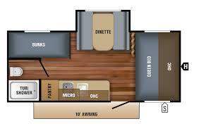 jay flight travel trailers floor plans 2018 jay flight slx 7 travel trailer floorplans u0026 prices jayco inc
