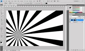 vector tutorial on photoshop photoshop tutorial create a burst of rays youtube