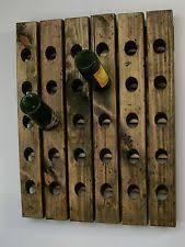handmade wooden wine racks u0026 bottle holders ebay