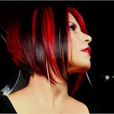 short red and black hair the best black hair 2017
