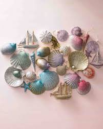 christmas in july u2013 making ornaments from seashells u2013 grandmother wren