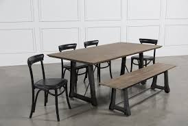 mead 6 piece dining set living spaces