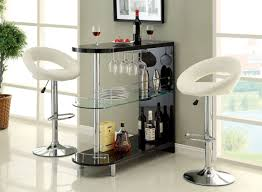 modern dining room rectangular black glass table astro dinette