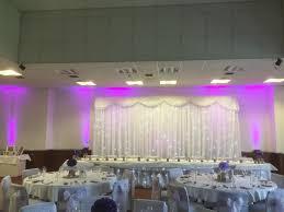 wedding backdrop hire newcastle shildon civic led starlit floor white led twinkle