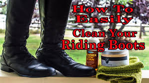 tall motorcycle riding boots how to clean tall riding boots easily youtube