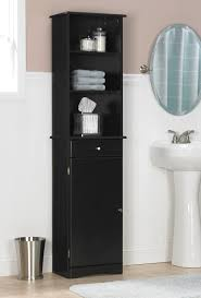 Tall White Linen Cabinet Tall Bathroom Storage Cabinet
