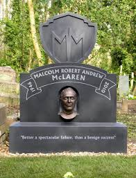 quotes in spanish for headstone pistols manager malcolm mclaren gets grave stone and a death