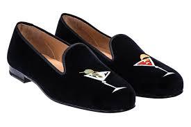 martini black black women slipper