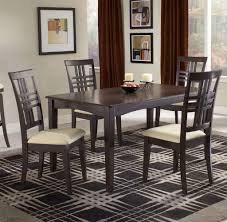 unique wood dining room tables dining room sets cheap cushioned backs and seats contemporary grey