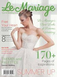 magazine mariage le mariage magazine august october 2016 scoop