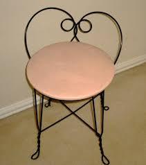 Vintage Vanity Chair 1950 U0027s Atomic Ranch House A Good Ebay Transaction