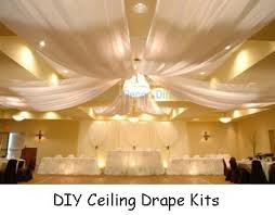 Wedding Ceiling Draping by Wedding Ceiling Decor Draping Kits