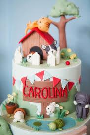 birthday cake for dogs kara s party ideas beanie boos pet adoption themed birthday party