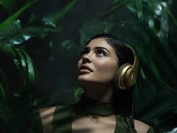kylie jenner is the face of the new beats balmain collection