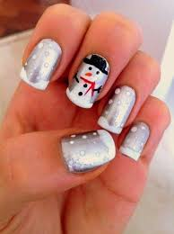 21 best christmas nail art images on pinterest holiday nails