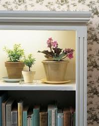 Grow Lights For Indoor Herb Garden - mount grow light underneath a shelf and you can have flowers year