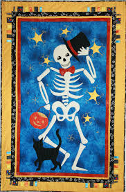 Halloween Skeleton Pattern by Halloween Skeleton Quilt Pattern 54