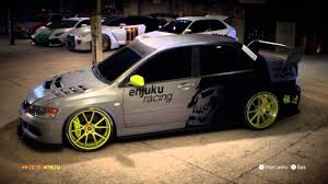 2015 mitsubishi rally car need for speed 2015 mitsubishi lancer youtube