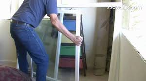 Double Pane Window Repair How To Install Replacement Windows Youtube