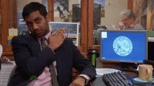 Ron Swanson Circle Desk Episode 100