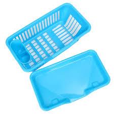 Washing Holder Basket PP Great Kitchen Sink Dish Drainer Drying - Kitchen sink plate drainer