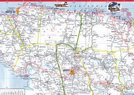 Map Jamaica Esso Jamaica Road Map 1983 Montego Bay To Ocho Rios