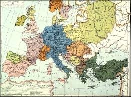Cold War Europe Map by Polish Genealogical Society Of California Maps