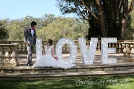 wedding backdrop letters wedding hire sunsets hire