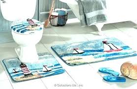 Lighthouse Bathroom Rugs Lighthouse Bath Rugs Nautical Themed Bath Rugs Jeux De Decoration