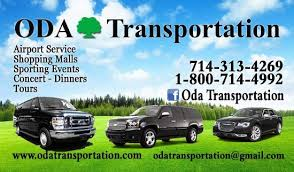 Car Service Business Card New Business Card Picture Of Oda Transportation Town Car Service