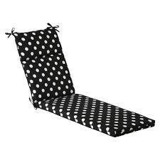 Patio Chair Cushions by Amazon Com Pillow Perfect Indoor Outdoor Black White Polka Dot