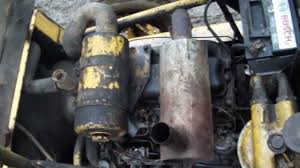 jcb 3cx 4cylinder perkins 4 236 engine youtube