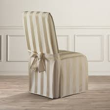 parsons chair slipcovers astoria grand polyester parson chair slipcover reviews wayfair