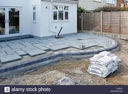 Pointing A Patio by Patio Slabs Stock Photos U0026 Patio Slabs Stock Images Alamy
