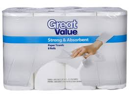 great value strong absorbent walmart paper towel consumer