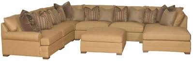 transitional u shaped sectional sofa by king hickory wolf and
