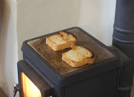 Tiny Toaster Making Toast Using Your Tiny Woodstove