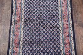 Turquoise Persian Rug Botemir Boteh Persian Rug Runner