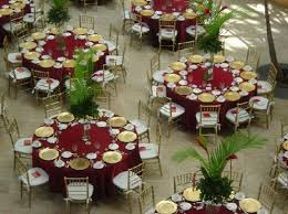 Gold Table Decorations Picture Of Red And Gold Wedding Decor Wedding Decor Theme