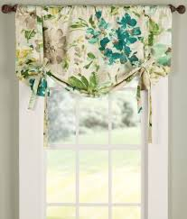 Tie Up Curtains Paint Palette Tie Up Valance 109 95 129 95 Window Treatments