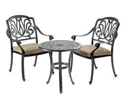 Garden Bistro Chairs Vintage Cast Iron Patio Set Table Is 26 X 39 Four Chairs 32 Cast