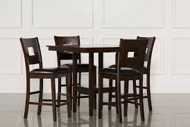 Dining Room Sets To Fit Your Home Decor Living Spaces - Dining table sets with matching bar stools