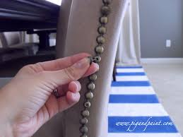 Nail Trim For Upholstery Furniture Make Good Your Furniture With Awesome Nailhead Trim