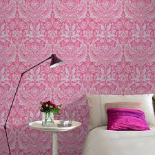 Pink Wallpaper For Walls by Graham U0026 Brown Desire Pink Wallpaper 50 024 The Home Depot