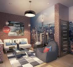zimmer designen wohnideen zimmer einrichten sofa sessel poster teppich