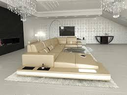 Beleuchtung Wohnzimmer Ebay Designersofa Messana Luxus Ledersofa Led Couch Sofa Wohnzimmer
