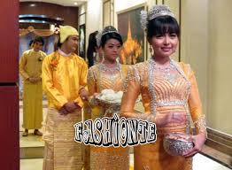 modern myanmar traditional wedding show 2016 2017 fashionte