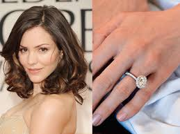 Celebrity Wedding Rings by Engagement Rings Wedding Ring Beautiful Oval Halo Engagement